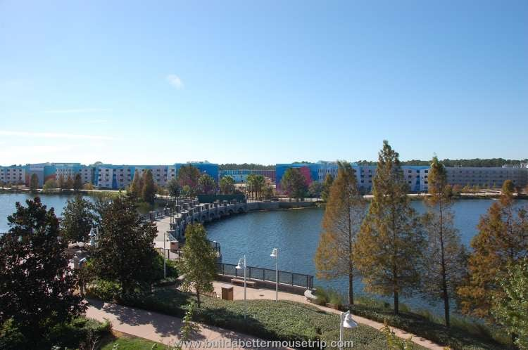 Generation Gap Bridge between Disney's Pop Century and Disney's Art of Animation Resort