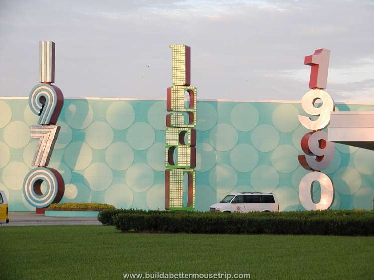Disney's Pop Century Resort main building