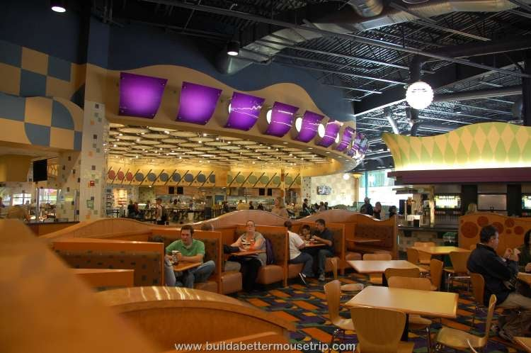 Dining room at Everything Pop / Disney's Pop Century Resort