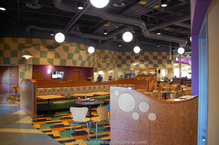 Dining room in Everything Pop / Disney's Pop Century Resort