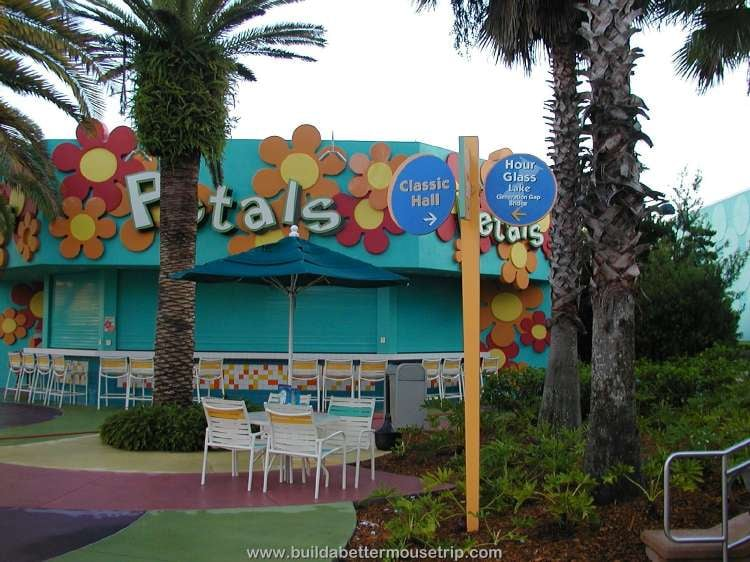 Petals Pool Bar at Disney's Pop Century Resort