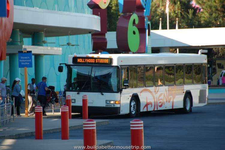 Disney World bus transportation