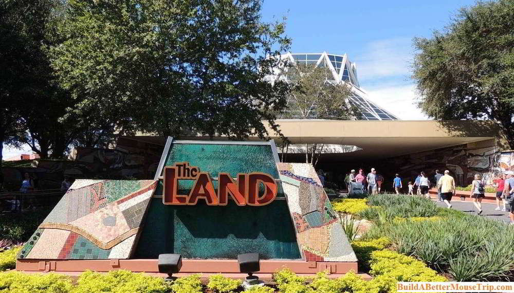 The Land pavilion in Future World at Epcot / Walt Disney World Resort - Florida