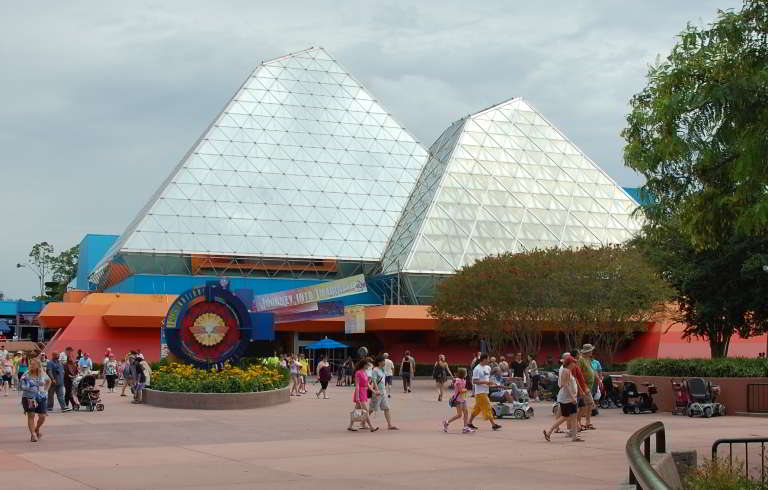 Journey into Imagination pavilion in Future World at Epcot.