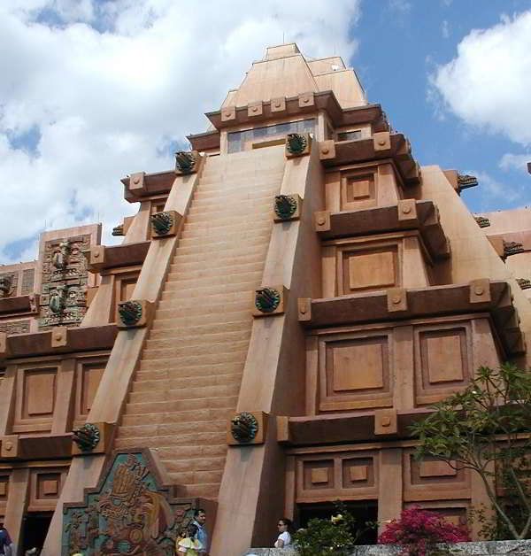 Mexico Pavilion in the World Showcase at Epcot - Disneyworld