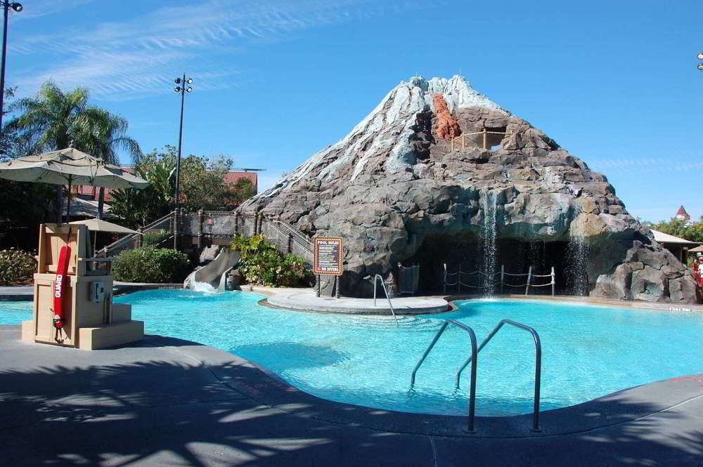 Nanea Volcano Pool at Disney's Polynesian Village Resort at Disney World.