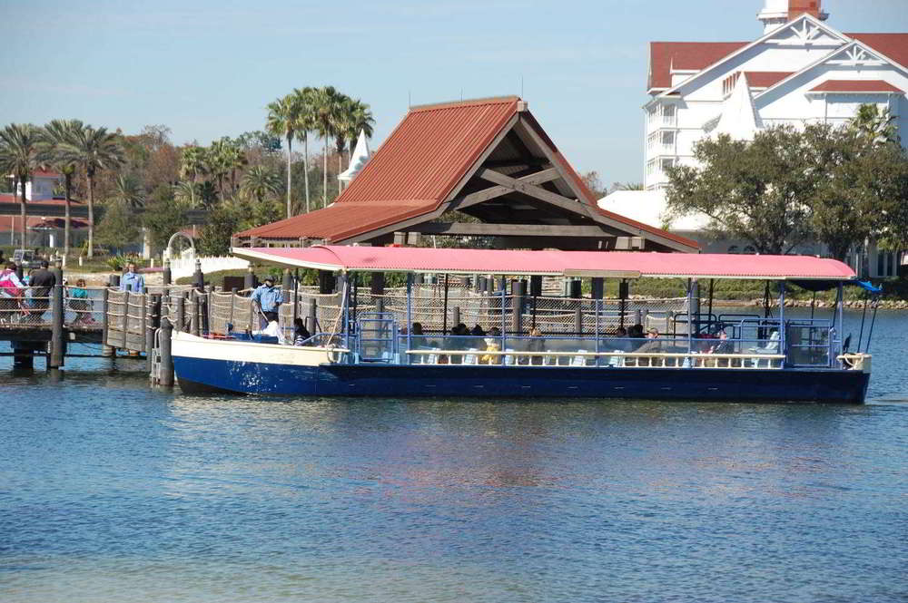 Boat Dock at Disney's Polynesian Village