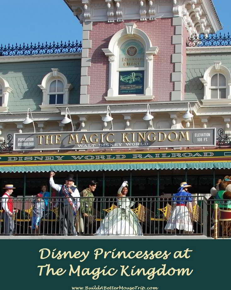 Disney Tips & Secrets - A list of all the places to see the Disney Princess in the Magic Kingdom at Disney World.  See: http://www.buildabettermousetrip.com/princesses-at-disney-worlds-magic-kingdom