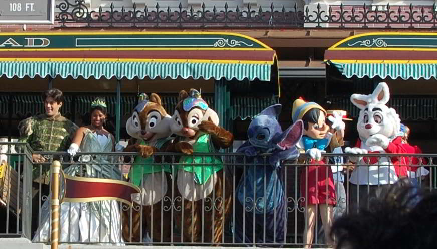 Magic Kingdom Welcome Show at Disney World
