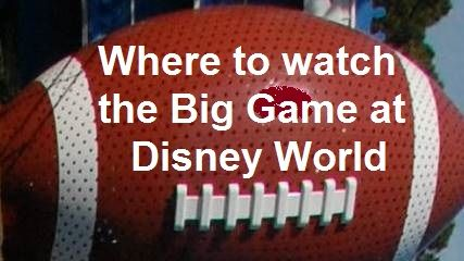 Where to watch the Big Game at Disney World