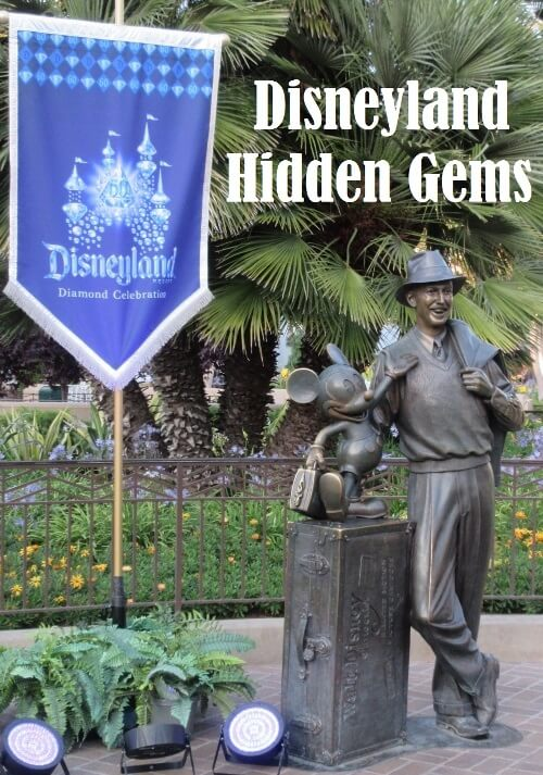 Hidden Gems of Disneyland and Disney California Adventure parks in California. this list includes freebies, special touches, treasures, and unique experiences that many guests overlook when visiting Disneyland.