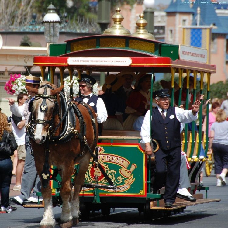 Disney World For Horse Lovers - Everything you need to know to see or ride horses on your Disney vacation; includes information about carriage and wagon rides.