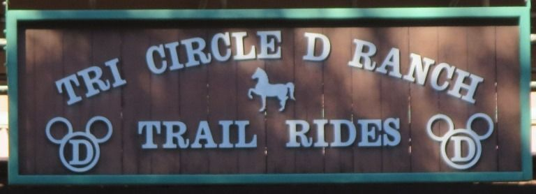 Information about Tri Circle D Ranch Trail Rides / Horse Riding at Disney World