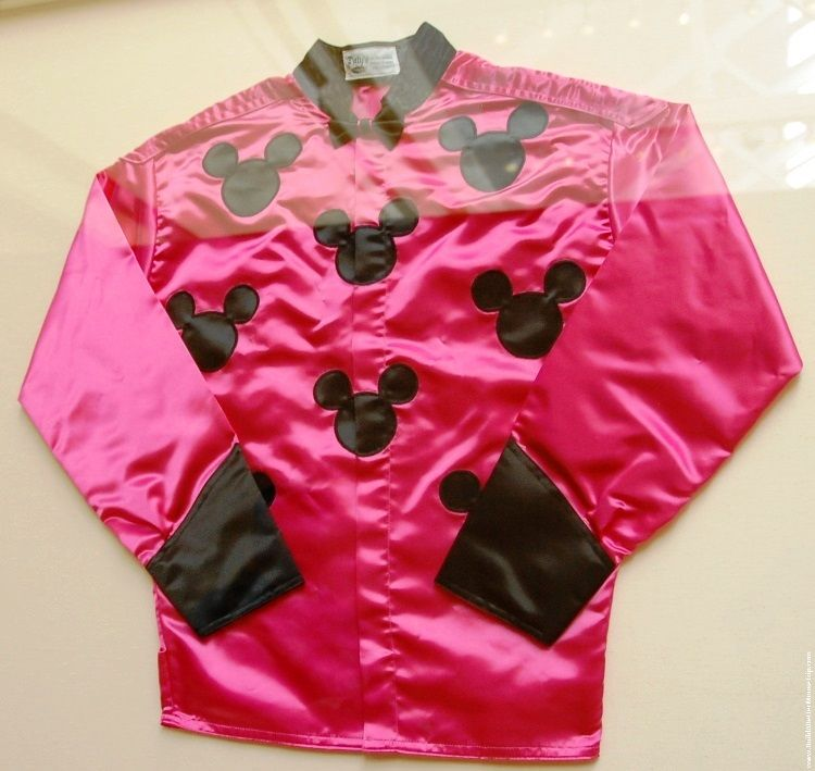 Mickey Mouse themed riding jacket on display at Disney's Saratoga Springs Resort & Spa