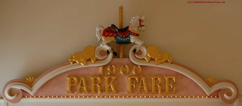 1900 Park Fare restaurant in Disney's Grand Floridian Resort at Disney World