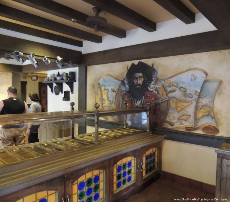 Finding Pirates at Disney World - Inside Tortuga Tavern / Magic Kingdom