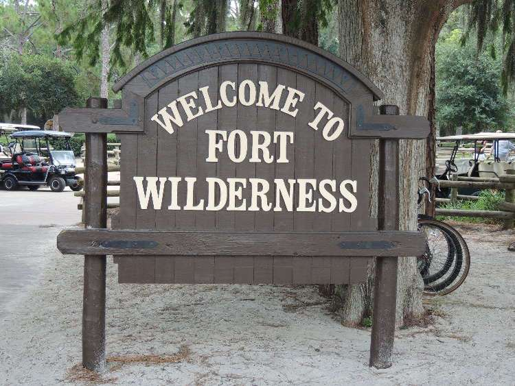 Marina area at Disney's Fort Wilderness Resort & Campground
