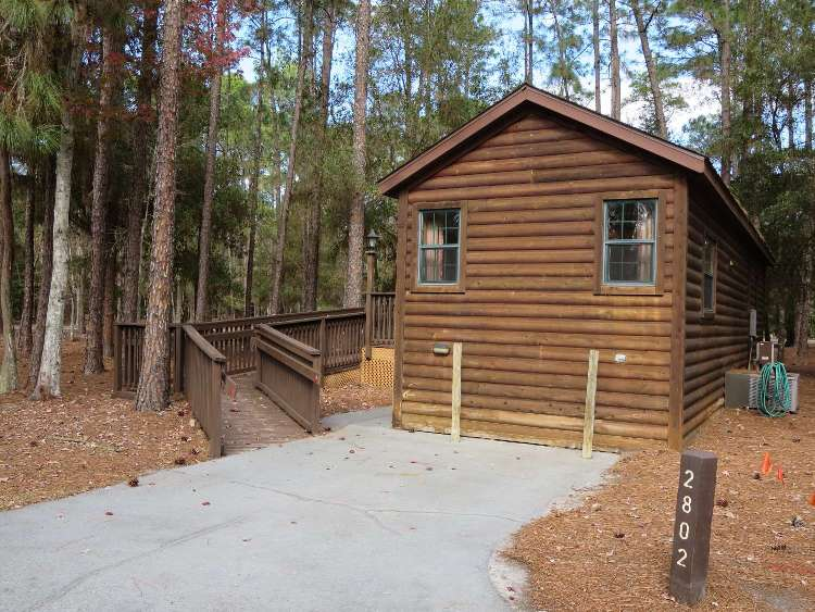 Accessible cabin at Disney's Fort Wilderness Resort & Campground / Disney World