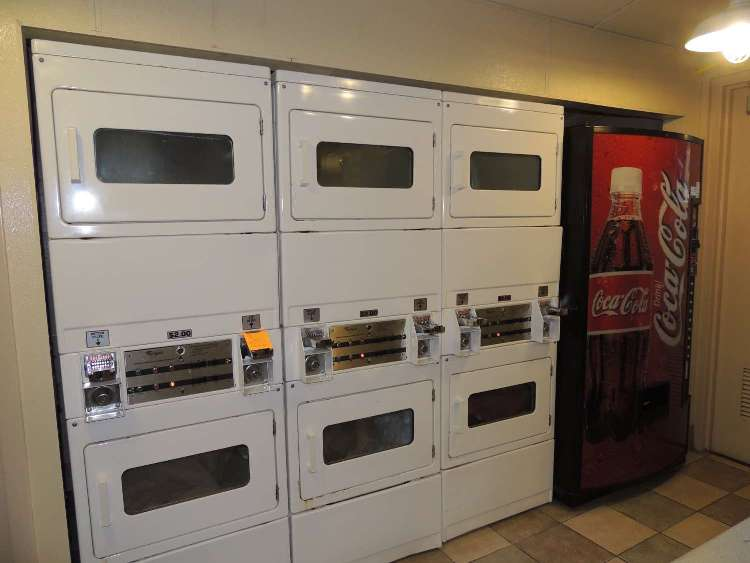 Dryers at Disney's Fort Wilderness Campground