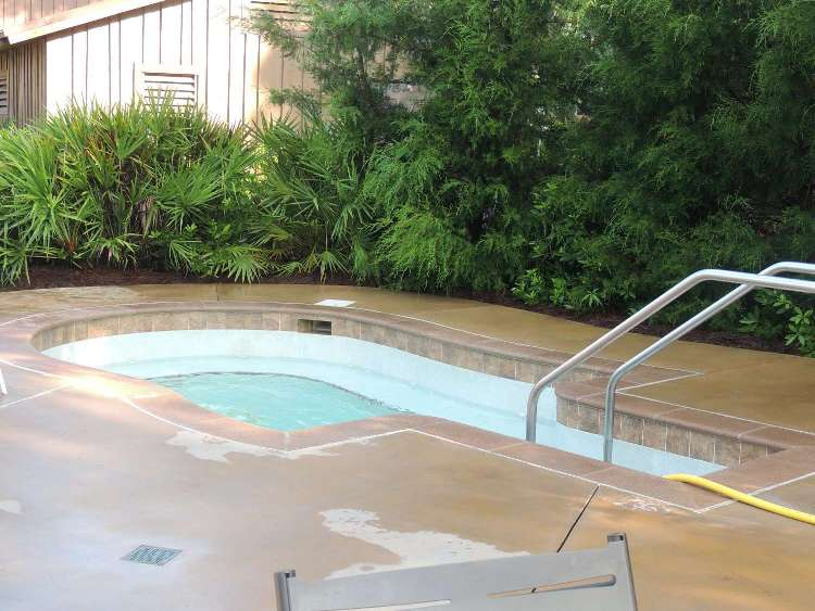 Whirlpool spa at Disney's Fort Wilderness Resort & Campground / Disney World.
