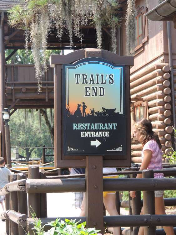 Trail's End restaurant at Disney's Fort Wilderness Resort & Campgound