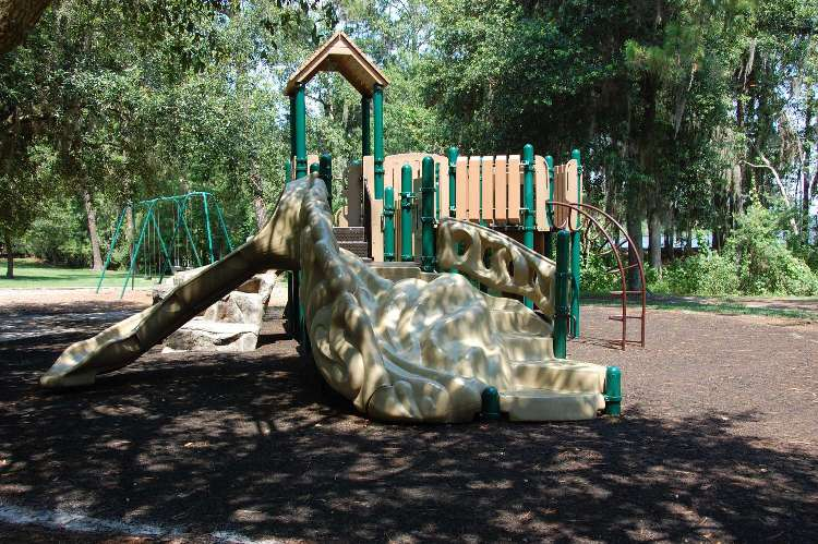 Children's Playground at Disney's Fort Wilderness Resort & Campground