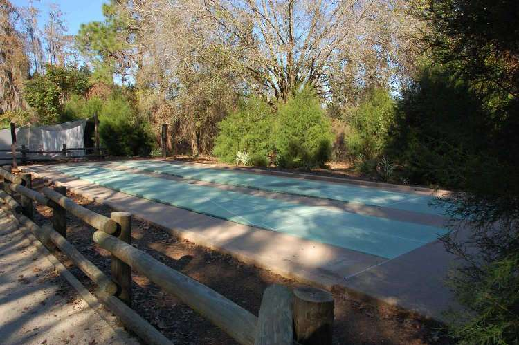 Enjoy a relaxing game of shuffleboard at Disney's Fort Wilderness Resort & Campground