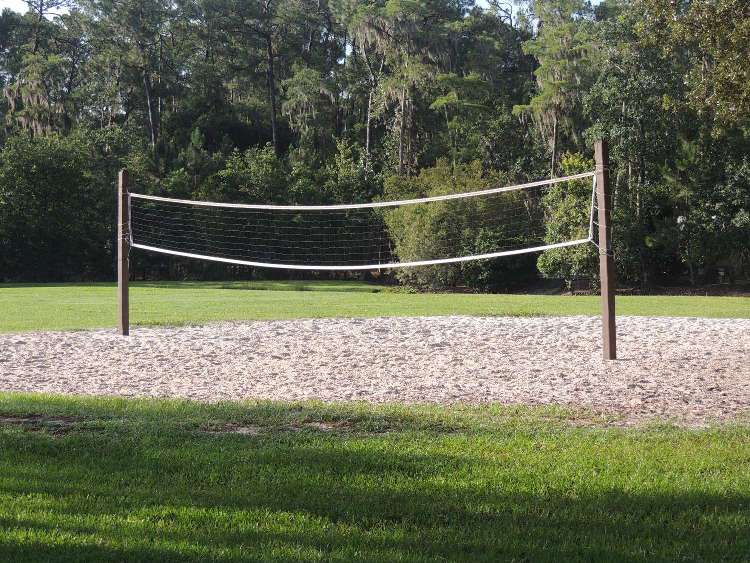 Play some sand volleyball at Disney's Fort Wilderness Resort & Campground