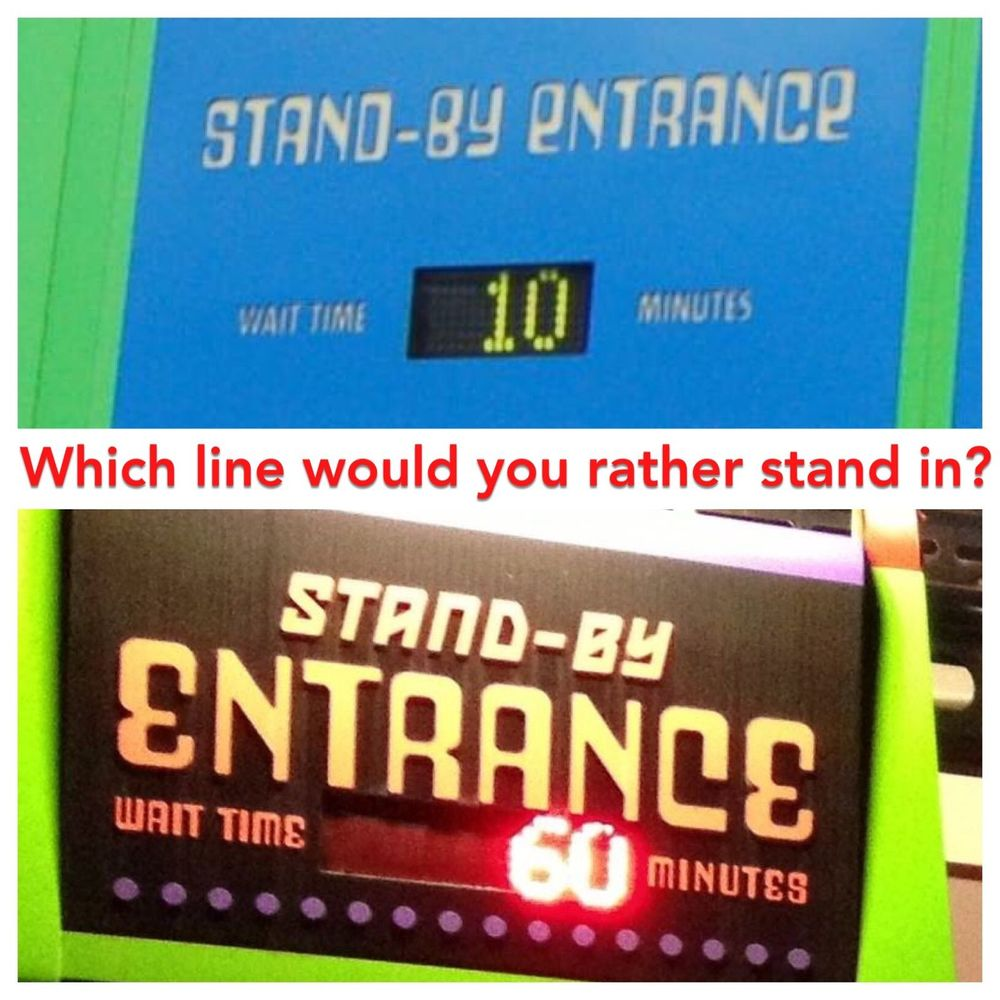 How to minimize lines and waits at the Disney and Universal theme parks.