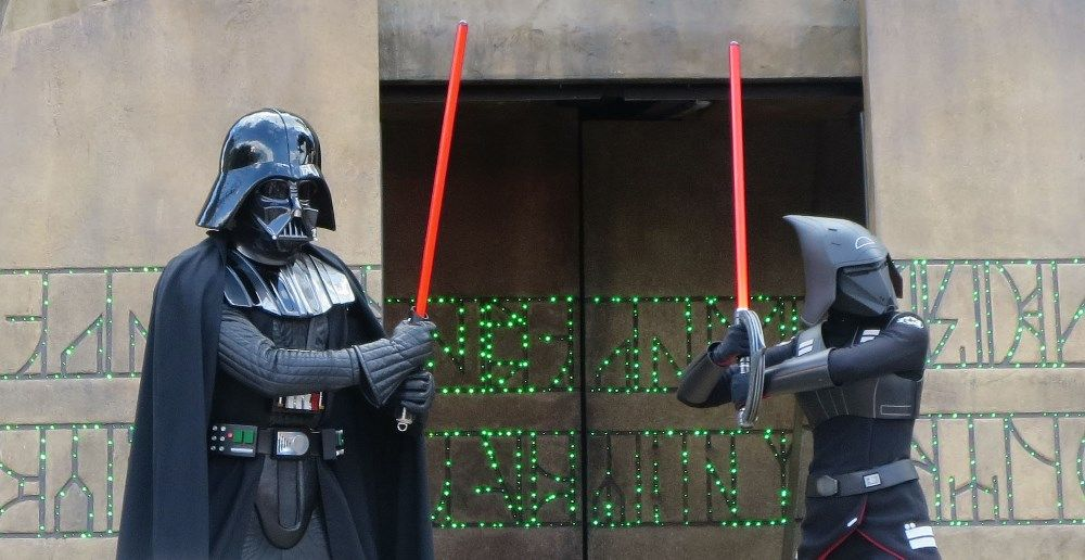 Jedi Training Academy : Trials of the Temple - A fun experienceat Disney's HOllywood Studios for children, age 4 - 12.