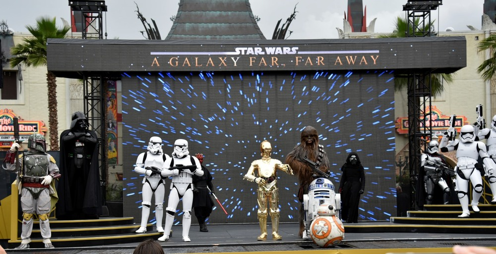 Star Wars: A Galaxy Far, Far Away show at Disney's Hollywood Studios park / Disney World