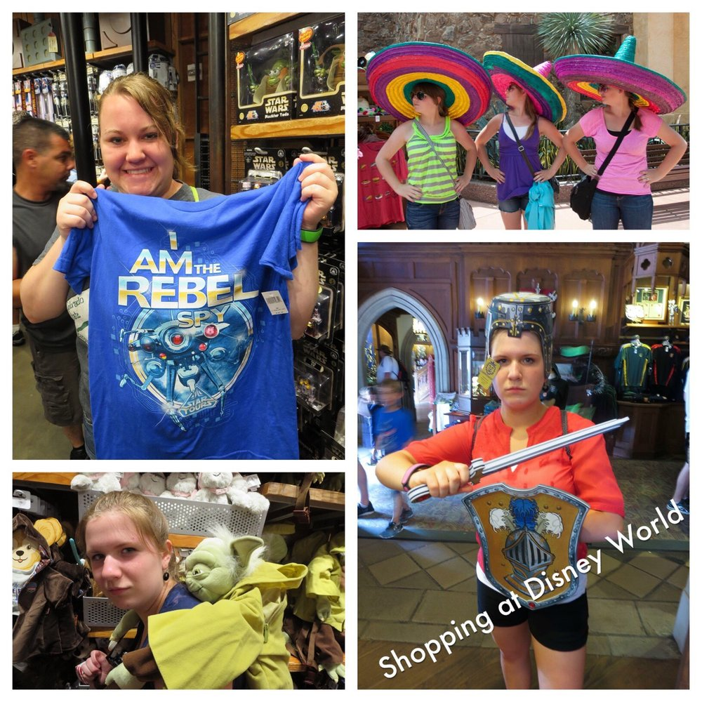 Shopping Tips for Disney Trips