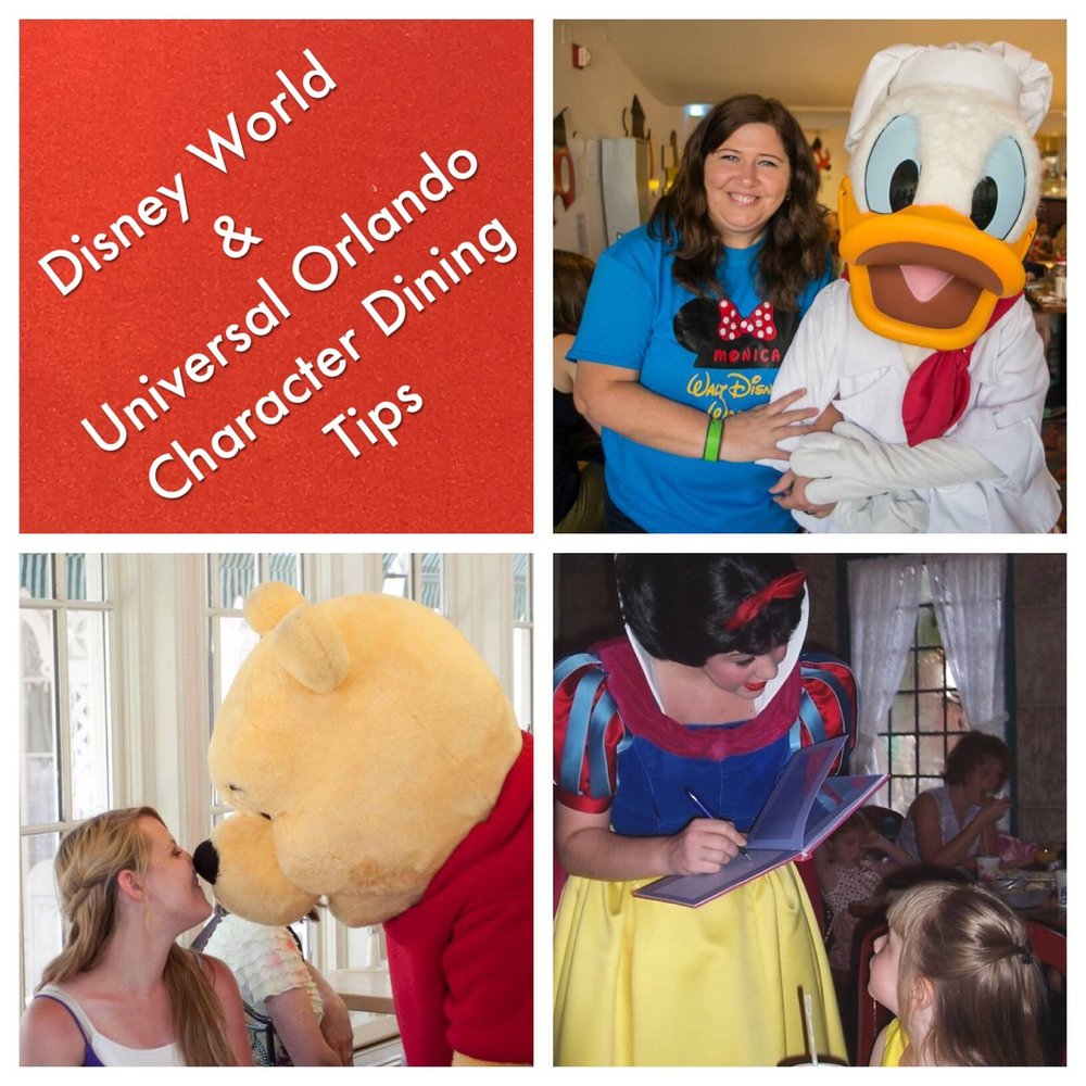 Character Dining Experiences are a great way to meet your favorite characters on your Disneyland, Disney World, or Universal Orlando vacation.