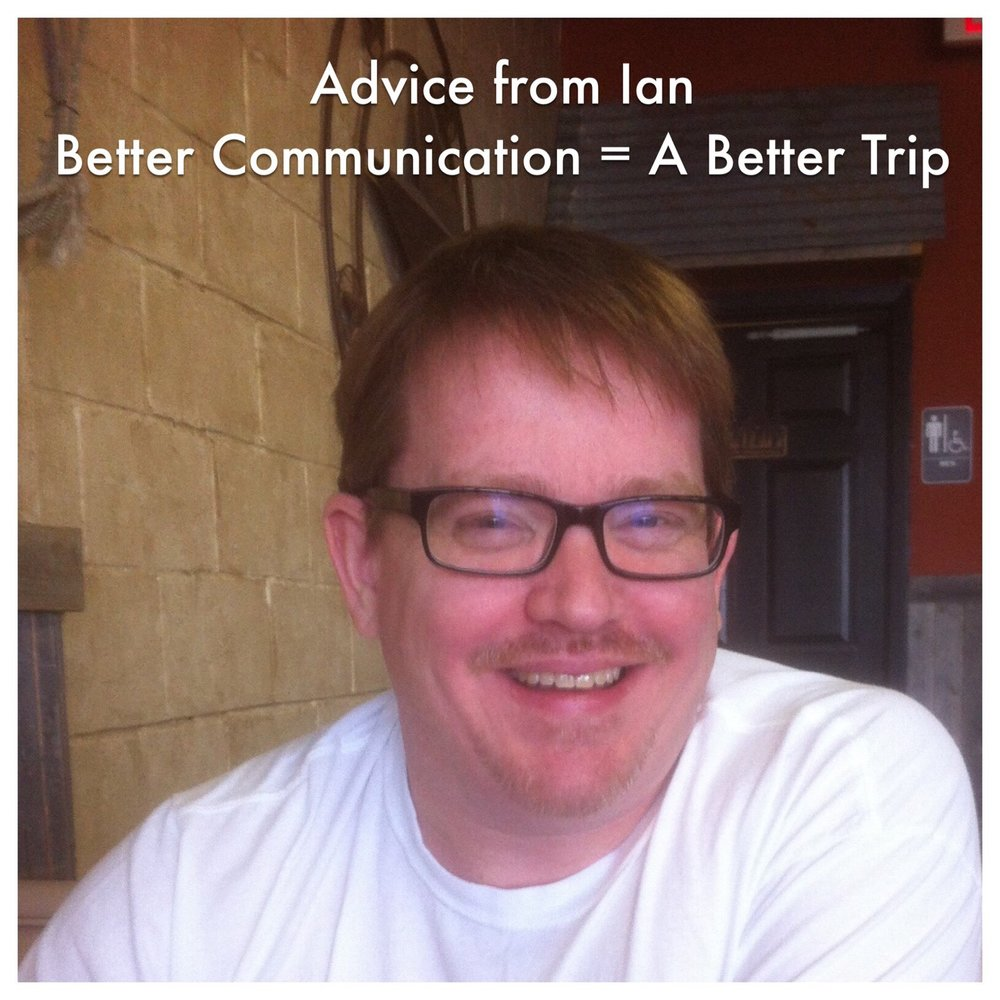 Disney Advice from Ian - Let people know what you want to do.