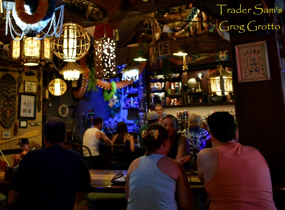 Disney Nightlife - Trader Sam's Grog Grotto at Disney's Polynesian Village Resort / Walt Disney World - Florida.