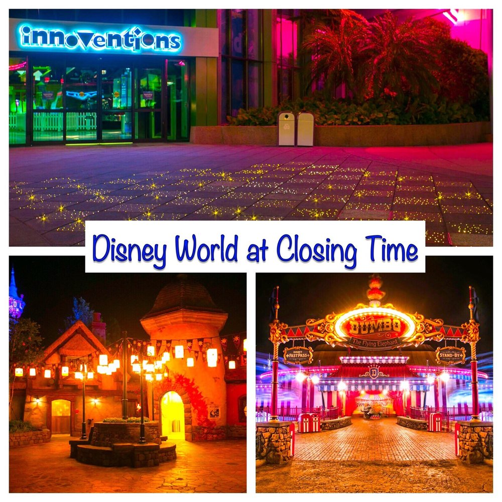 Great reasons to stay until park closing at Disney World