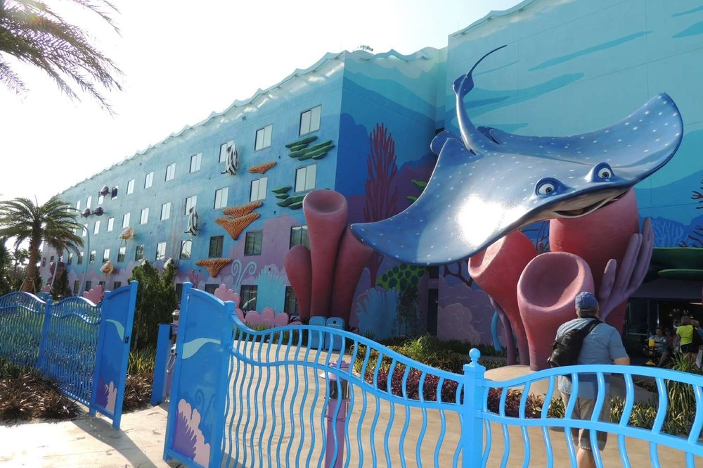 Finding Nemo Buildings