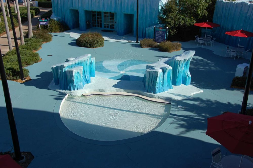 Kiddie pool  at Disney's All-Star Movies Resort