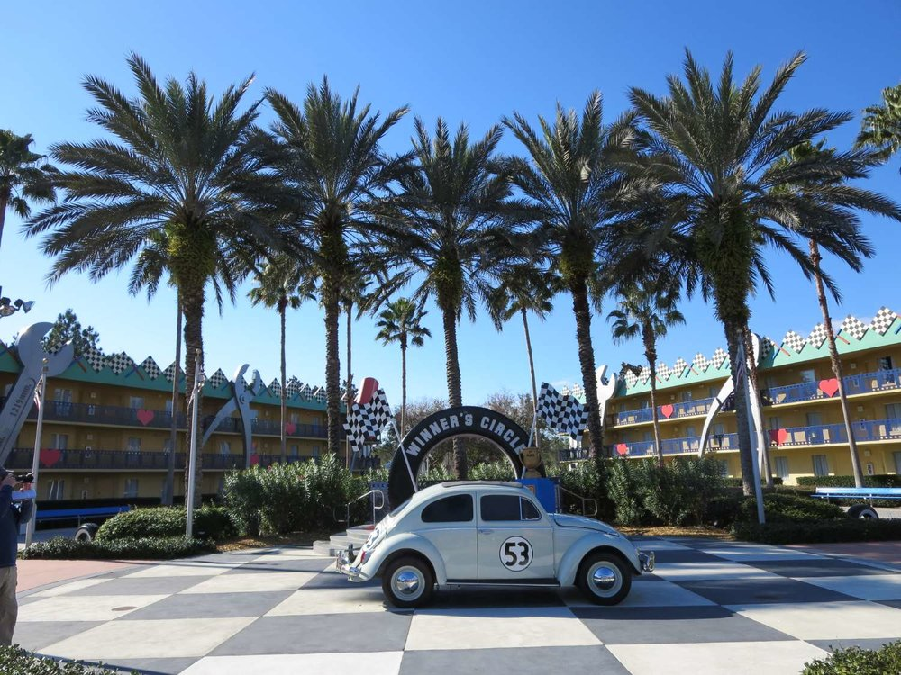 Herbie the Love Bug  at Disney's All-Star Movies Resort