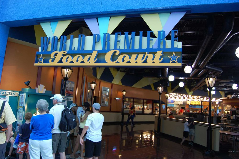 World Premiere Food Court at Disney's All-Star Movies Resort