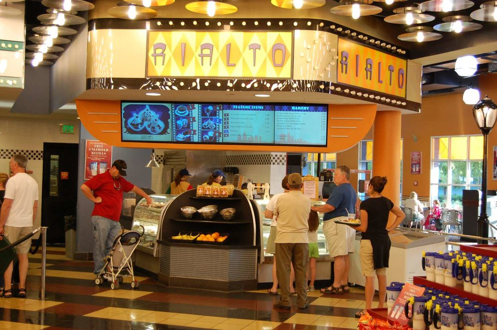 Rialto  food station at Disney's All-Star Movies Resort