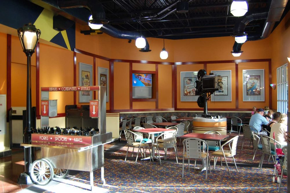 Disney's All-Star Movies Resort Food Court Dining Room