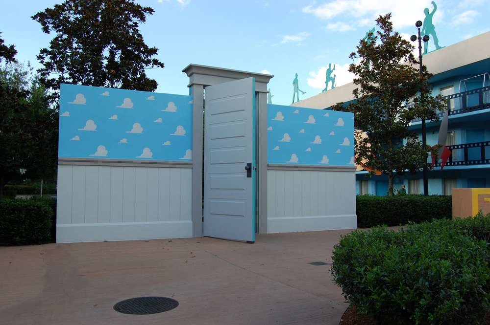 Andy'sRoom in the Toy Story Buildings at Disney's All-Star Movies Resort