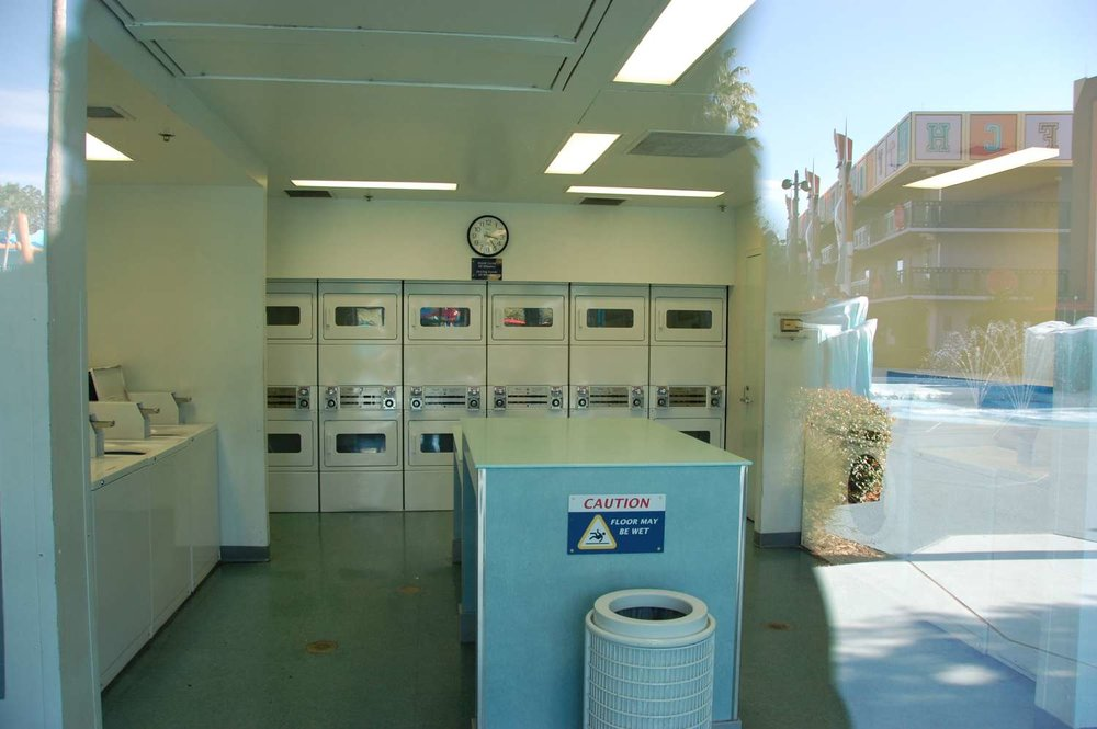 Coin laundry fascilities  at Disney's All-Star Movies Resort