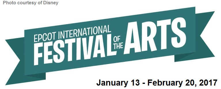 Epcot International Festival of the Arts to Debut in January 2017