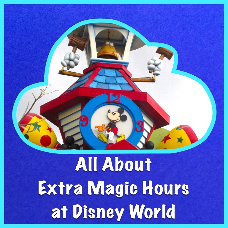 Everything you need to know about Disney World Extra Magic Hours