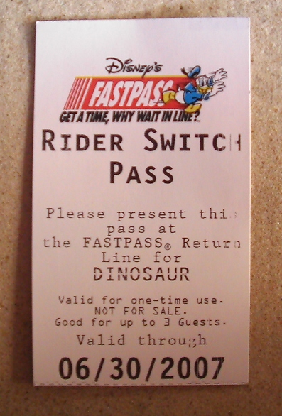 Disney World Tips & Secrets - All about Rider Switch Passes at Disney World