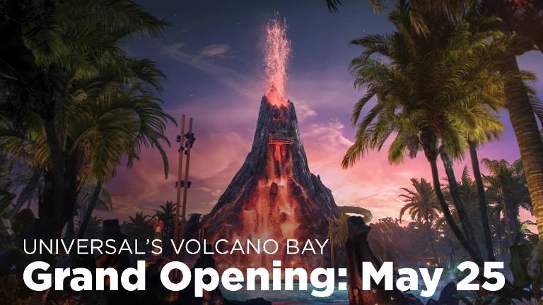 Universal's Volcano Bay Water Park Will Open May 25, 2017 / Universal Orlando - Florida.