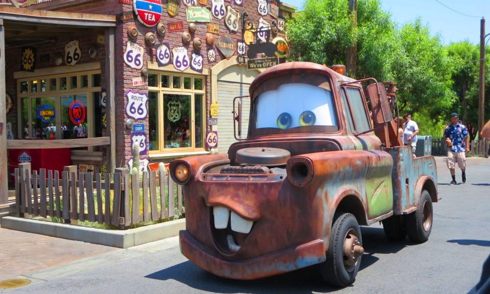 Mater at Carsland