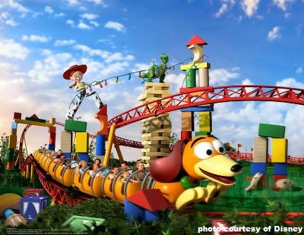 Toy Story Land at Disney's Hollywood Studios Park / Walt Disney World Resort - Florida.